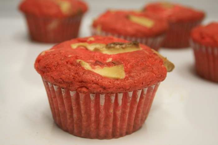Pink Velvet Muffin